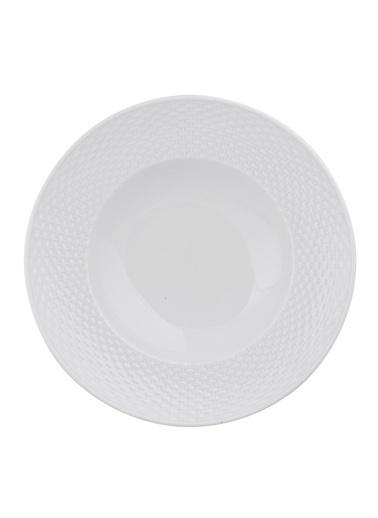 Kütahya Porselen Polo 27 Cm Spagetti Tabağı Beyaz